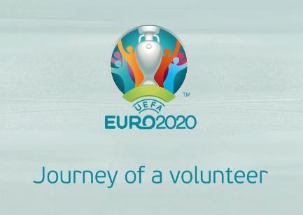 EURO 2020 volunteer