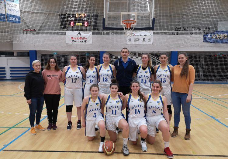 Miskolci Egyetem mefob kosárlabda